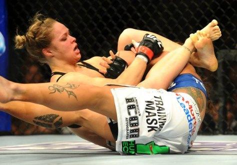 MMA: UFC 157-Rousey vs Carmouche